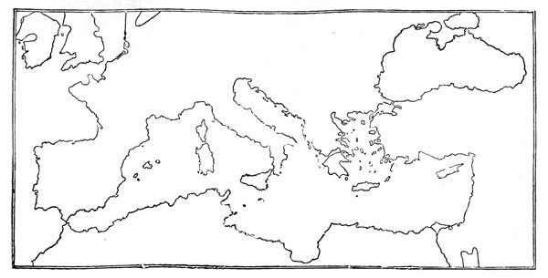 Image Gallery Of Roman Republic Map Blank - Ancient rome map blank